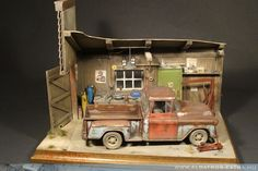 Chevy `57 1/24 Scale Model Diorama