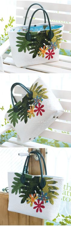 Beautiful quilt bag