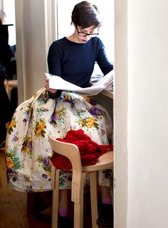 Fashion Street - photo The Sartorialist #TeaParty