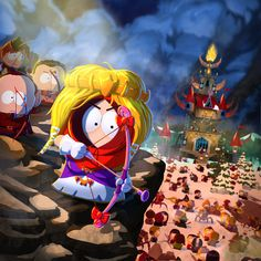 Kenny McCormick ~ Princess Kenny South Park Stick of Truth Eric Cartman, Video Game Posters, Video Games, Pokemon, South Park Anime, Park Art, Vanellope, Adult Cartoons, Cartoon Shows