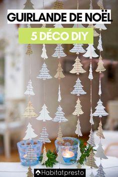 Guirlandes de Noël DIY : 5 déco de fête à faire soi-même #noel #noel2020 #noeltendance #noeldeco #deconoel #deconoelnature #deconoeldiiy #guirlandenoeldiy #guirlandenoelfaitmain #guirlandenoelsapin #guirlandenoelpapier #guirlandenoeldeco #guirlandenoelfacile #guirlandenoelenfant #guirlandenoel Christmas Window Decorations, Diy Christmas Ornaments, Homemade Christmas, Christmas Wreaths, Christmas Christmas, Christmas Windows, Christmas Tree Made Of Books, Winter Decorations, Holiday Tree