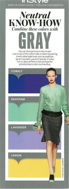 Instyle Neutral Know-How: GRAY