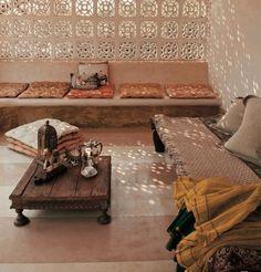moroccan garden via bohemianhomes.tumblr.com