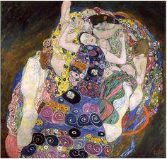 Gustav Klimt, Die Jungfrau - La vergine (1913)
