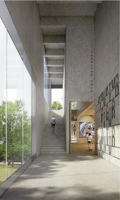 Image 47 of 55 from gallery of Foundation Bauhaus Dessau Announces Winners of Bauhaus Museum Competition. Raummanufaktur's commended design. Image Courtesy of Bauhaus Dessau