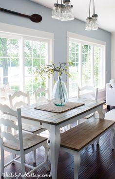 Edgartown Waterfront - beach-style - Dining Room - Boston - Martha\'s ...