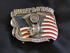 "Protect Our American Heritage Belt Buckle 3-1//4/"" X 2.5/"""