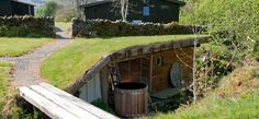 the underground sauna, ecoyoga, scotland Outdoor Sauna, Outdoor Decor, Canopy And Stars, Sweat Lodge, Bothy, Underground Homes, Plunge Pool, Curb Appeal, My House