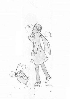 Natsume Book Of Friend ★ Crystal Spark Anime Demon, Anime Manga, Fantasy Characters, Anime Characters, Natsume Takashi, Hotarubi No Mori, Natsume Yuujinchou, Anime Drawings Sketches, Cat Aesthetic