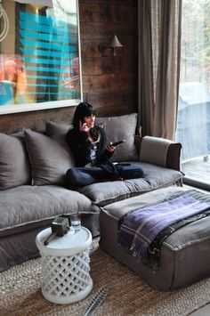 The Most Comfortable Couch. This awesome photo collections about The Most Comfortable Couch is available to save. We obtain this amazing photo from online and Home And Living, Cozy Couch, Most Comfortable Couch, Apartment Living, Cool Couches, Comfy Couch, Comfortable Couch, Home Decor, House Interior