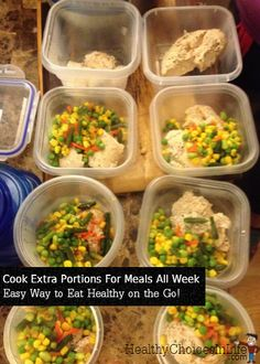 Cooking extra food at dinner gives you control over your travel meals and portion size... Great way to stick with a healthy eating plan AND save money! :-) #healthyeating #losingweight #nutrition #weightloss