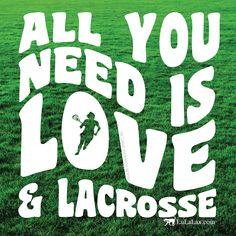 All you need is love and lacrosse! Lax inspiration from LuLaLax.com!