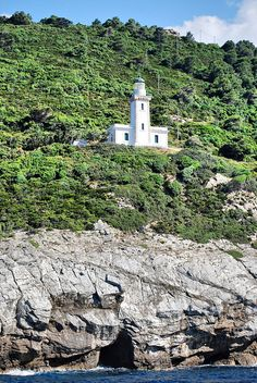 Island of Skopelos lighthouse,Greece