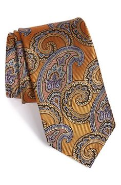 J.Z. Richards Paisley Silk Tie available at #Nordstrom