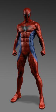 THE AMAZING SPIDER-MAN - Unused Suit Designs and Concept Art