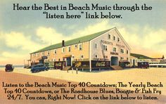 There is a free newsletter available and music charts - Carolina Beach Music and Carolina Shag dancing