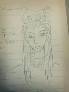 From the hobbit. Elf king. did it during math lol.