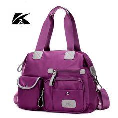 K2 2017 New Women Bags Ladies Nylon Handbag Casual Original Shoulder Bag Female High Quality Large Capacity Crossbody Bags ZG023