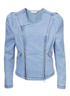 Womens Jackets & Coats | Chambray Jacket | Seed Heritage