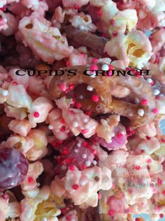 Cupid's Crunch Recipe - Valentine's Day Treats! (Easy to be allergy friendly)  on http://mamalovesherbargains.com/2013/01/cupids-crunch-recipe-valentines-day-treats/