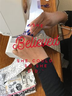 She Believed She Could http://www.aliciamarchadesigns.com/blog-2/2017/2/22/she-believed-she-could