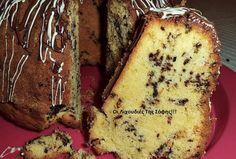 κεικ-με-κορν-φλαουρ Greek Sweets, Greek Desserts, Greek Recipes, Sweets Recipes, Cake Recipes, Cake Cookies, Cupcake Cakes, Cupcakes, Bundt Cakes