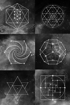 Studies have shown that meditating on sacred geometry can help strengthen the connection between the right and left hemispheres of the brain and remind you of your own. Sacred Geometry Art, Sacred Art, Physical Science, Science Art, Esoteric Art, Magic Symbols, Math Art, Dot Painting, Book Of Shadows