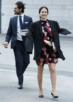 Princess Sofia and Prince Carl Philip of Sweden attended the opening of the First World Anti-Bullying Forum (WABF2017) held at the Quality Hotel Friends on May 08, 2017 in Solna. Friends is an non-profit organization, dedicated to the prevention of bullying. Princess Sofia wore a '& Other Stories' floral crochet dress