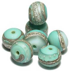 Handmade Lampwork Glass Beads from Arcadia Beads on Etsy