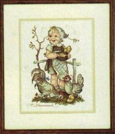 Amazon.com: Feeding Time - Hummel Cross Stitch Kit: Arts, Crafts & Sewing