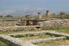 Taxila Archeological site in pakistan