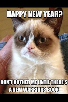 I've never seen this before! Grumpy cat is soooo right :)