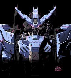 ASW-G-66 Gundam Vidar drawn by Ippei Gyoubu : Gundam