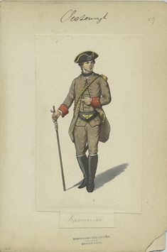 Austria, 1756-1760 Artillery