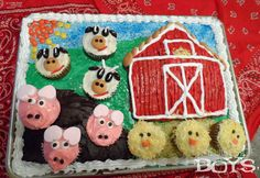 Farm Cake for Barnya