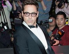 Robert Downey Jr. doesn't take any guff during the #Avengers press tour.