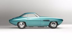 One of the most beautiful Fiats in existence, the 1953 8V Supersonic