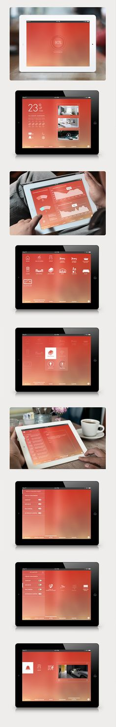 Home Automation on Behance