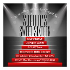 red_carpet_sweet_sixteen_birthday_party_invitation-rc6884fefd805421caab79184489ae28b_zk9yv_324.jpg (324×324)