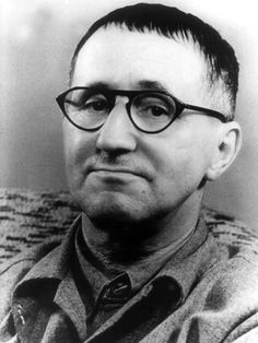 Berthold Brecht, a German poet, playwright, and theatre director, founder of the Berliner Ensemble.