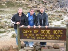 African Literature Study Tour, South Africa.  Faculty Led Tour, Summer.  Students visit the Cape of Good Hope while meeting authors and visiting sites studied in class.