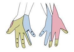 Gray812and814 hand - Zespół cieśni kanału nadgarstka – Wikipedia, wolna encyklopedia