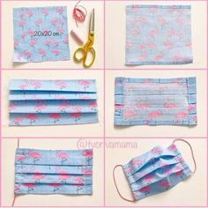 The best face mask tutorial packaging face mask packaging . Small Sewing Projects, Sewing Hacks, Sewing Tutorials, Sewing Crafts, Diy Crafts, Sewing Diy, Easy Face Masks, Diy Face Mask, Techniques Couture