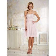 Alfred Angelo Mod Vintage Bridesmaid Dress 8633S