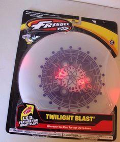 Frisbee Twilight Blast L.E.D for Night Play Lights Up - Brand NEW #Frisbee