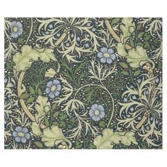 Seaweed Pattern, arts and crafts, art nouveau, Victorian design by William Morris William Morris Wallpaper, William Morris Art, Morris Wallpapers, Of Wallpaper, Designer Wallpaper, Thistle Wallpaper, Tapestry Wallpaper, Wallpaper Pictures, Textures Patterns