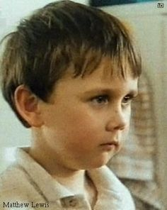 Matthew Lewis. This is exactly what I meant when I say that if I'd ever have a child, I'd want him to look like Neville. Adorable.