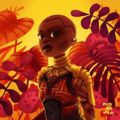 Okoye by Nathasha Padrón Marvel Comics, Marvel Art, Black Panther Art, Black Panther Marvel, Black Girl Art, Black Women Art, Black Artwork, Cool Artwork, Amazing Artwork