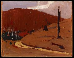 Tom Thomson, Sand Hill, fall 1915 - Art Gallery of Ontario Canadian Painters, Canadian Artists, Nature Paintings, Landscape Paintings, Landscapes, Group Of Seven Paintings, Tom J, Tom Thomson Paintings, Catalogue Raisonne