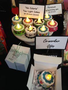 Tea light cakes